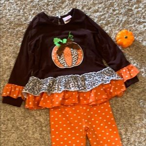 CUTE THANKSGIVING/FALL TODDLER OUTFIT🍁